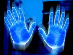 Our hands and all parts of our body emit biophotons