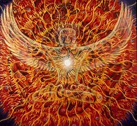 """Holy Fire"" by Alex Grey"